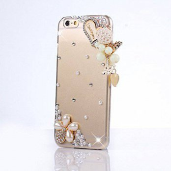 [holiczone] Happy Hours Luxury 3D Handmade Glitter Crystal Rhinestone Fashion Bling Case C/114894