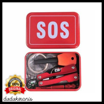 Portable SOS Tool Kit Earthquake Emergency Outdoor Survival OLA-085