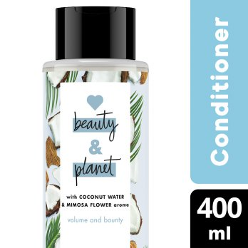 LOVE BEAUTY PLANET CONDITIONER COCONUT WATER & MIMOSA FLOWER 400ML