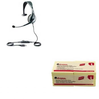 [holiczone] KITJBR1593829209UNV35668 - Value Kit - Jabra UC Voice 150 Monaural Over-the-He/126574