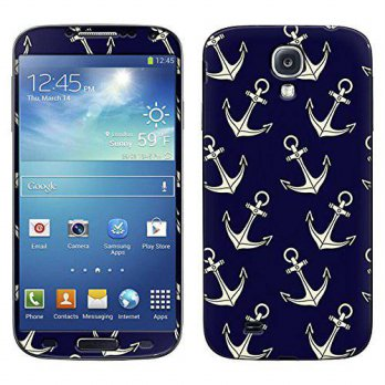 [holiczone] TrekSkins Skin Decal for Samsung Galaxy S4 - Anchors on Blue/132849