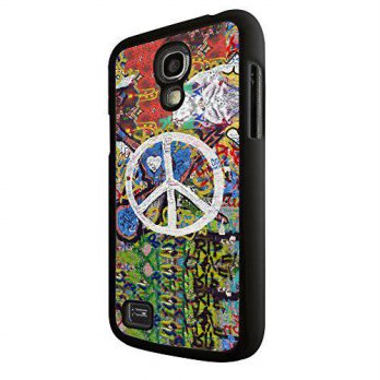 [holiczone] CELLBELL Watercolor Cool Grafitti Arts White Peace Sign Design Samsung Galaxy /139867