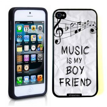 [holiczone] Iphone 5 5S Case Thinshell Case Protective Iphone 5 5S Case Shawnex Music Is M/142920