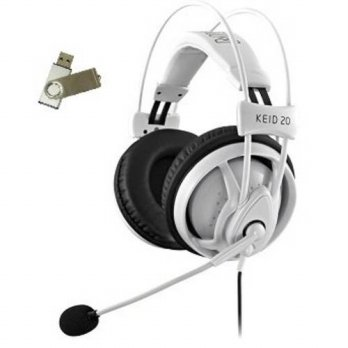 [holiczone] MionI Bundle:2 Items - Headset/ Free USB Drive Mionix Keid 20 Gaming Headset -/143881