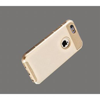 [holiczone] VIYNL Gold Hybrid Shockproof Hard Rugged Heavy Duty Cover Case for Apple Iphon/91086