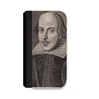 [holiczone] Insomniac Arts - William Shakespeare - Wallet Cover, Case for iPhone 6 PLUS/95848