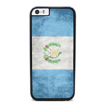 [holiczone] Insomniac Arts - Flag of Guatemala, Guatemalan - Case for iPhone 6 Plus, Black/90298