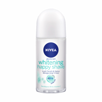 NIVEA Deo Roll On Whitening Happy Shave 50ml
