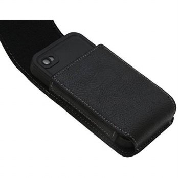 [holiczone] Rebono Premium Faux Leather Carrying Case / Belt Holster Clip for Lifeproof Wa/109091