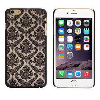 [holiczone] Vovotrade(TM) For iPhone 6 Plus caseVintage Pattern (Black)/112158