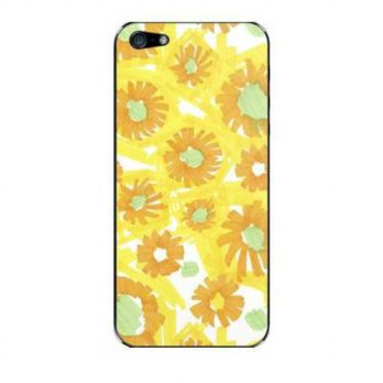[holiczone] DECO FAIRY Watercolor Sunflowers Hard Case Cover or Apple iPhone 6 Plus (5.5)/115568