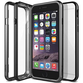 [holiczone] Obliq iPhone 6S / 6 Case, OBLIQ [MCB one][Titanium Space Gray] Thin Slim Fit B/131489