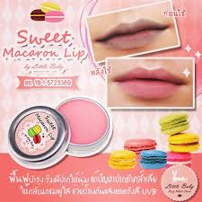 Sweet macaron lip / beauty lips by little baby