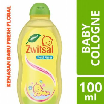 Zwitsal Cologne Parfume Baby Bayi Floral Kisses n Soft Touch - 100ml