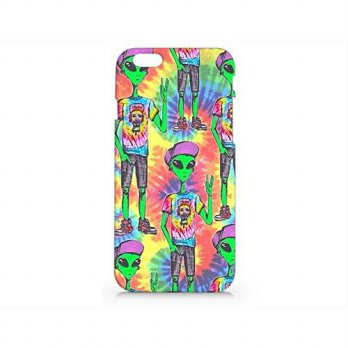 [holiczone] Far Out Alien Iphone 6 Case, Iphone 6 Hard Cover Case (For Apple Iphone 6 4.7 /131862