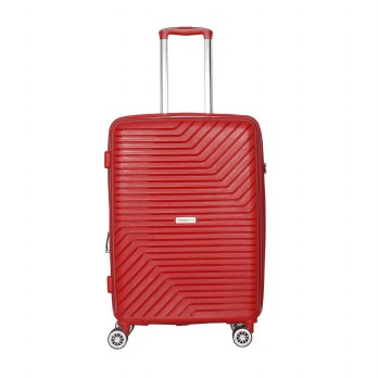 Travel time  Hardcase  HY818 - 24 inch Gollo Red