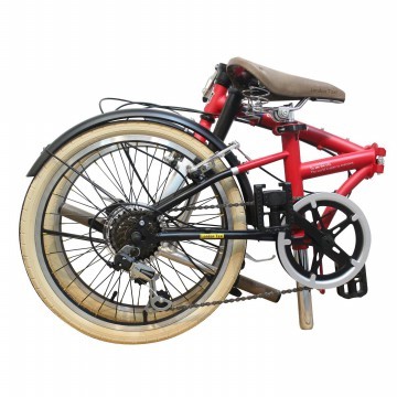 London Taxi Folding Bike 20 Inch - Red