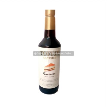 Toffin Syrup Tiramisu 750 mL Cafe Coffee Original Syrup