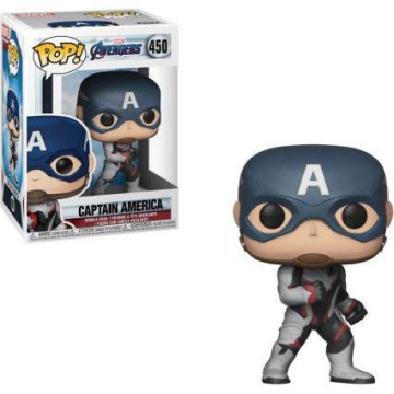 Funko Pop Marvel: Avengers End Game- Captain America (team suit) #450