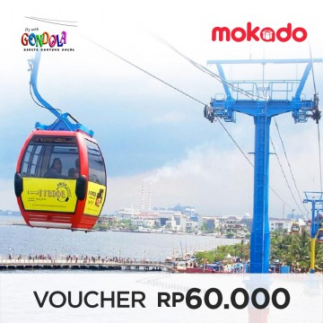Tiket Gondola Ancol berlaku All Day
