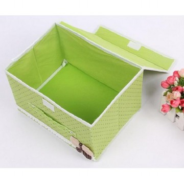 FIRSTPROJECT 2 in 1 SET KOTAK PENYIMPANAN LIPAT FOLDABLE BUTTERFLY KNOT STORAGE BOX