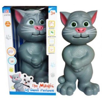Mainan Anak BONEKA TALKING TOM / TOMCAT KECIL Bahasa Indonesia MEDIUM