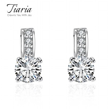 Tiaria - 9 Model Crystal Earrings / Anting Kristal Wanita