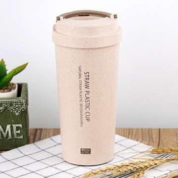 Botol Minum Coffee Cup 400ml - Pink