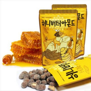 [1+1] [Wasabi Almonds 35g Gift] BIG SIZE HONEY BUTTER SERIES (SPECIAL GIFT FREE MOKADO LOTTERIA)
