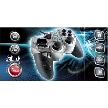 Cliptec FORCE-X PC USB Dual Vibration Gamepad (RZG330)