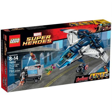 LEGO 76032 MARVEL SUPER HEROES - The Avengers Quinjet City Chase