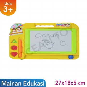 Papan Tulis Mainan Edukasi Anak OCT0016 - Multicolor