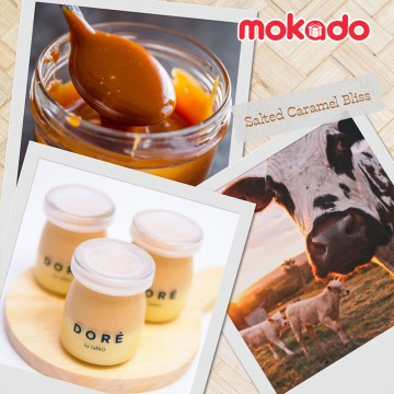 DORE BY LeTAO - SALTED CARAMEL BLISS FROMAGE POT