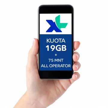 Paket COMBO XTRA L 19GB, 30hr, Rp89rb