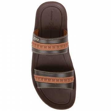 Neckermann Sandal Pria LV 9352 Dark Brown