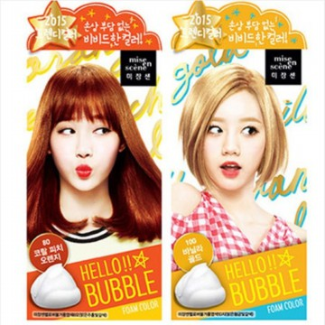 [1+1] [MISE EN SCENE] HELLO BUBBLEFORM HAIRDYE
