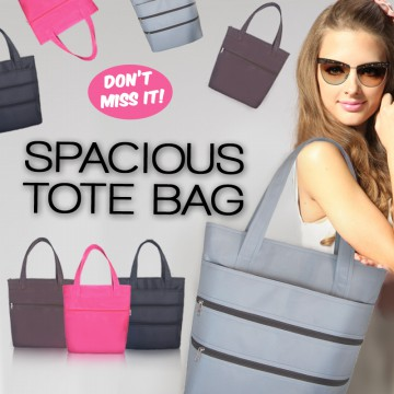 THE GREAT SPACIOUS TOTE BAG