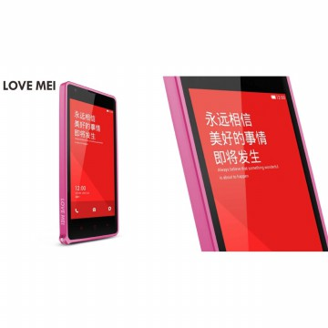 Love Mei Metal Bumper Case Xiaomi Redmi Note