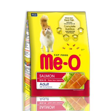 CPPETINDO Me-O Salmon Adult Cat Food 1.1 Kg