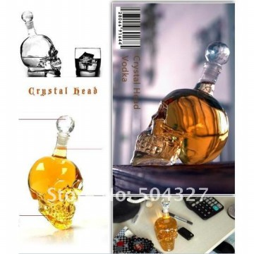 Botol Skull Crystal Head Vodka Ukuran Besar 1000ml