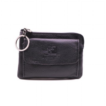 Mini Wallet With Key Ring
