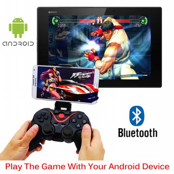 Terios Gamepad T3 + Holder Android bluetooth smartphone VR Box wireless TV Box