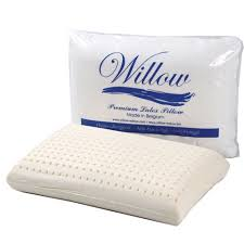 Willow Standard Latex TERMURAH Cover Katun (60x40x12cm) Latex Premium BELGIA - Bantal Kesehatan