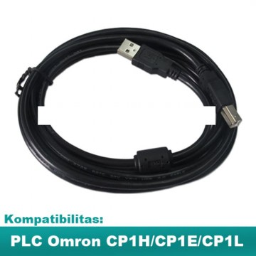 PLC Omron Programming Cable USB-CP1H