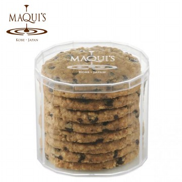 MAQUI'S COOKIES: Almond/ Chocolate Chip/ Almond Tuile/ Orange/ Vanilla/ Coffee/ Green Tea