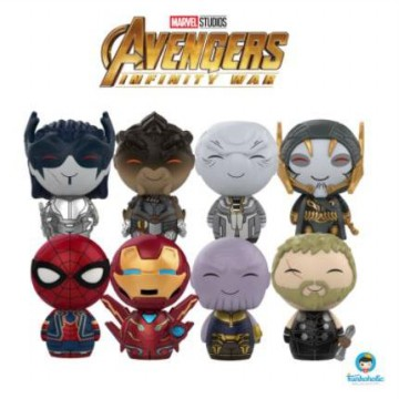 Funko Dorbz Set Promotion Marvel - Avengers Infinity War (8 items)