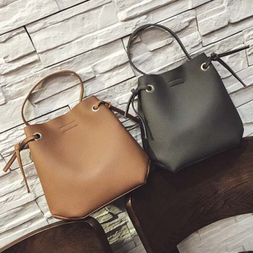 tas tangan selempang kulit simple sling bag hand bag leather bta371