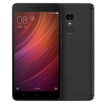 Xiaomi Redmi Note 4 [Snapdragon] - 3/32GB - Black - Garansi Distributor 1 Tahun