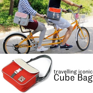 Korean Travelling  Cube Bag / Tas Selempang Korea