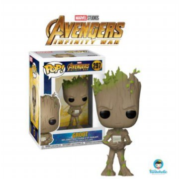 Funko POP! Avengers Infinity War - Groot with Video Game (Moody)